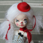 Elleki with Helliantas faceup, clown version