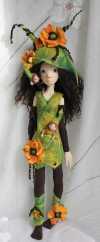 Meadow dolls felted