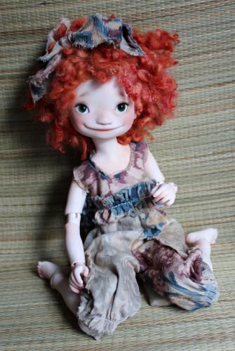 Meadowdolls resing doll