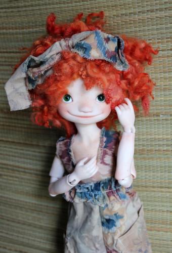 Mjusis doll head