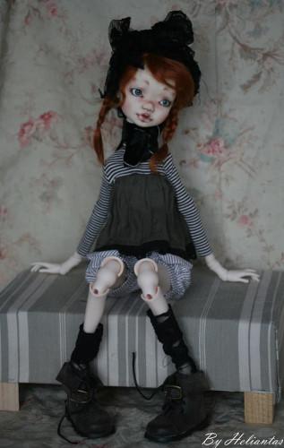 ball jointed doll Elleki