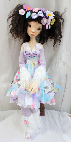 candy dress Meadowdolls