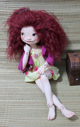 totti sitting doll